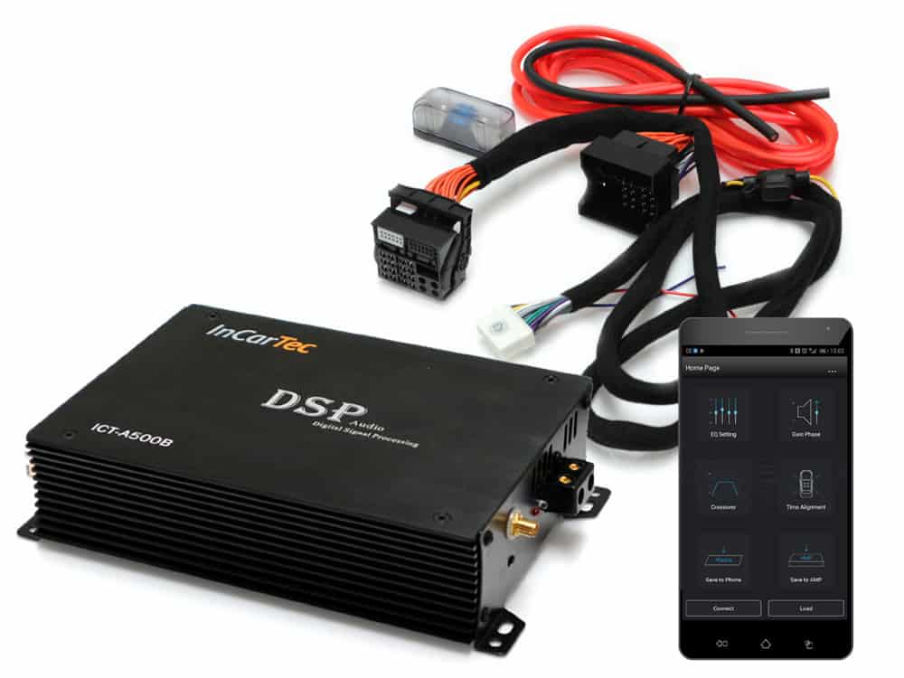 5 channel DSP audio amplifier with Bluetooth direct streaming and App