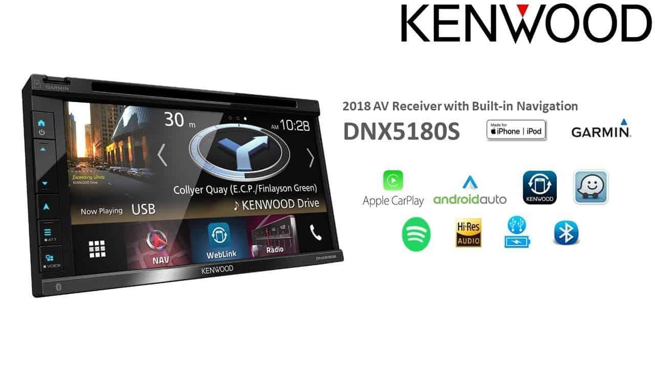 Kenwood DNX5180BTS 6 8